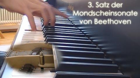 Mondscheinsonate von Beethoven, 3. Satz