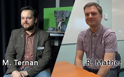 M. Ternan and R. Mather both took some time for an interview today! Thanks a lot.