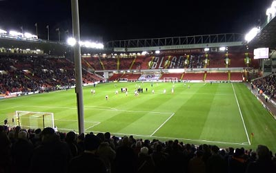 The match between Sheffield United and Shrewsbury Town took place in the Bramall Lane Stadium. But Sheffield United lost...