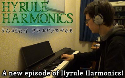 Thanks to Ruth and Ali, there is an electronic piano in the office room. Great for recording my new episode of Hyrule Harmonics.